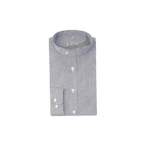 """GOTTSEIDANK Trachtenhemd """"Lenz"""" grau   Herren   Größe: L   A000598"""