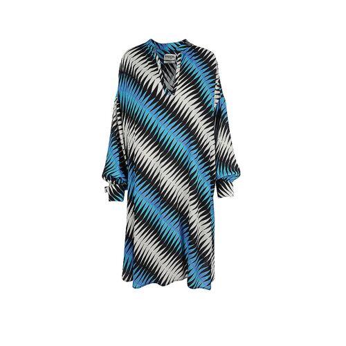 ESSENTIEL ANTWERP Kleid Zedamame blau   Damen   Größe: M   ZEDAMAME