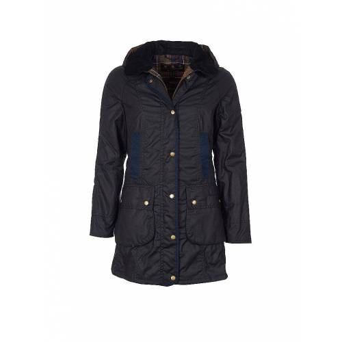 BARBOUR Parka Bower Wax blau   44