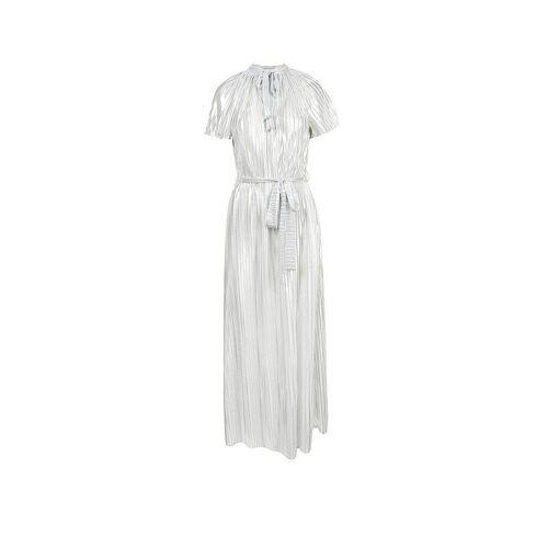 CLAUS TYLER Abendkleid silber   36