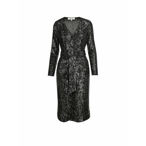 DIANE VON FUERSTENBERG Kleid Melina schwarz   M