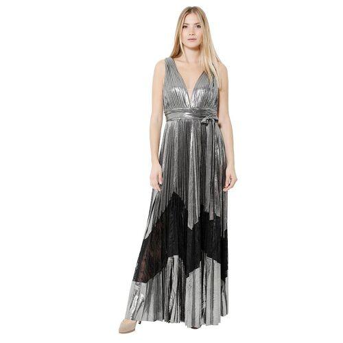 Unique FOREVER UNIQUE Abendkleid silber   38