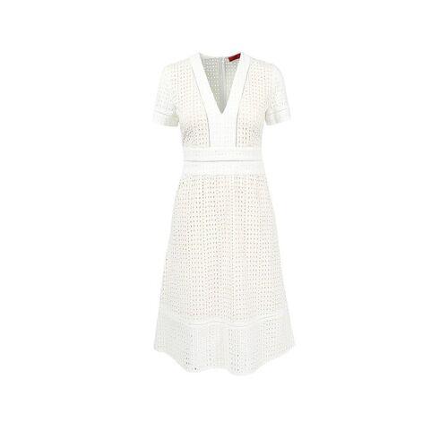 HUGO Kleid Kaleas weiß   40