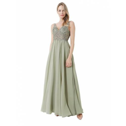 LAONA Abendkleid grün   40