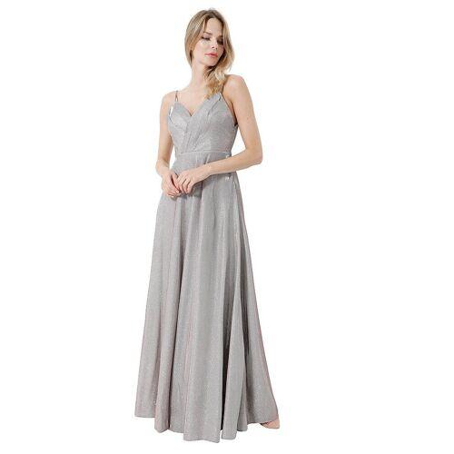 LAONA Abendkleid grau   40
