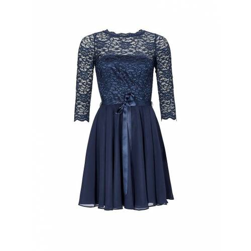 SWING Cocktailkleid blau   36