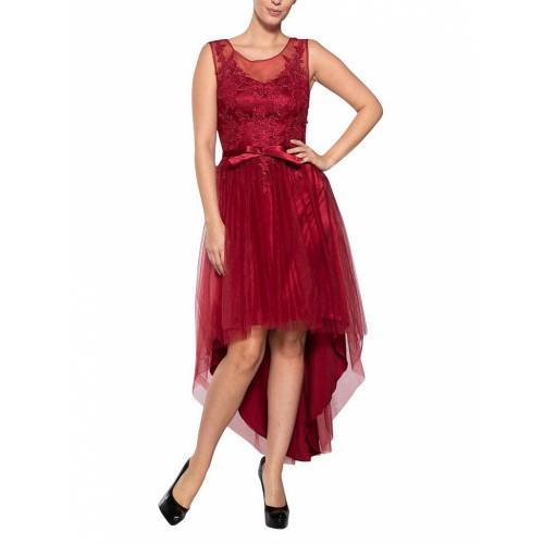 SWING Abendkleid rot   34
