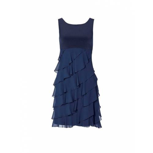 SWING Cocktailkleid blau   34