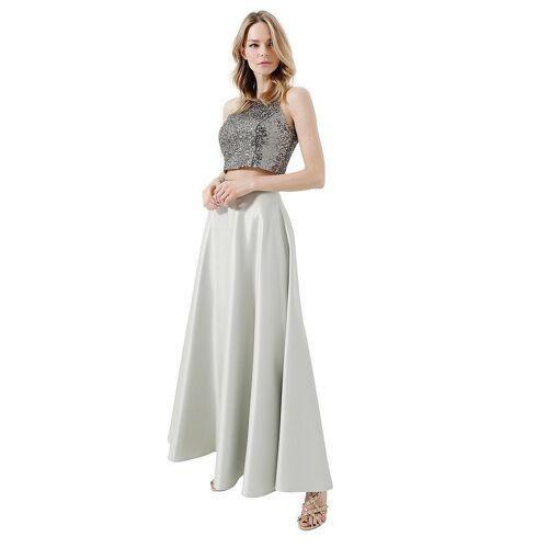SWING Abendkleid 2-tlg. grün   38