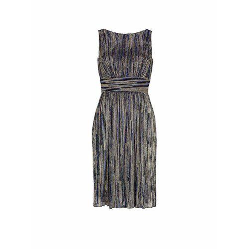 SWING Plisseé-Kleid blau   42