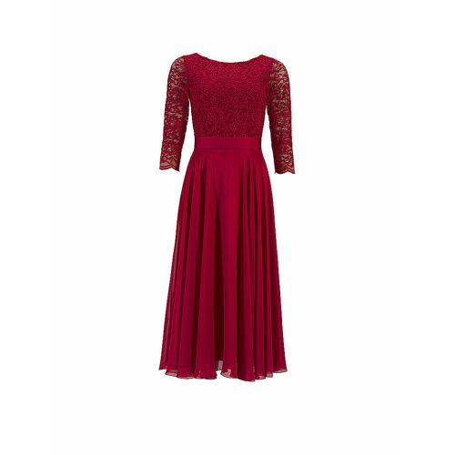 SWING Abendkleid rot   40