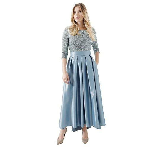 SWING Abendkleid blau   36
