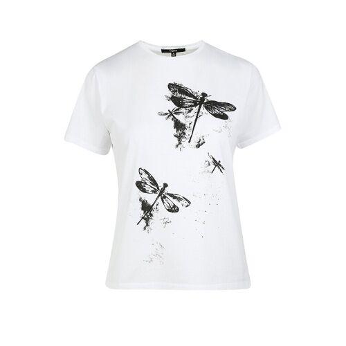 TIGHA T-Shirt Dragonfly weiß   M