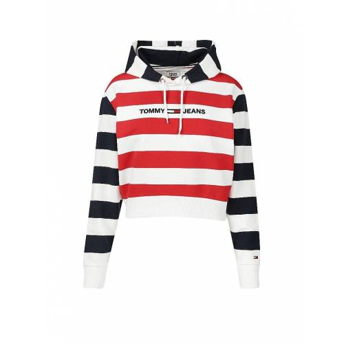 TOMMY JEANS Sweater -  cropped  rot   XS