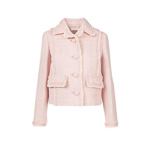 TORY BURCH Tweed Jacke pink   36