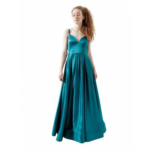 Unique Abendkleid blau   34