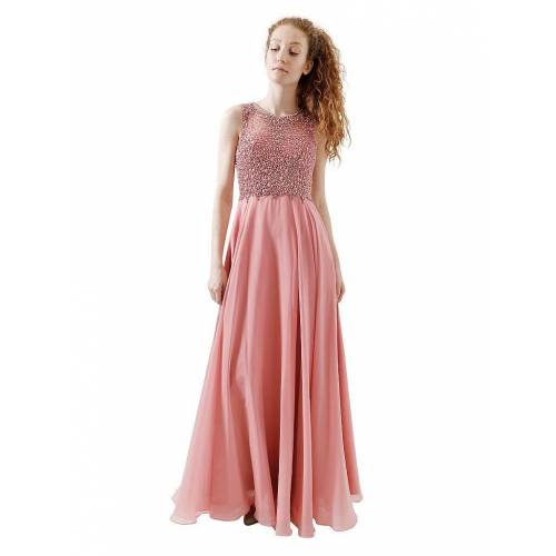 Unique Abendkleid pink   38