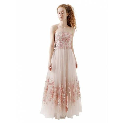 Unique Abendkleid rosa   38