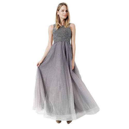 Unique Abendkleid grau   40