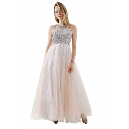 Unique Abendkleid rosa   34