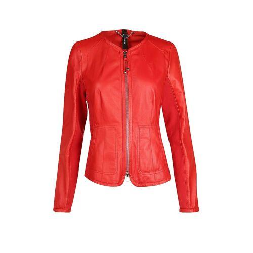 Marc CAIN Lederjacke rot   Damen   Größe: 42   MC 31.01 L01