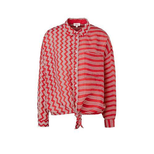 S.OLIVER Bluse  rot   Damen   Größe: L   2064492