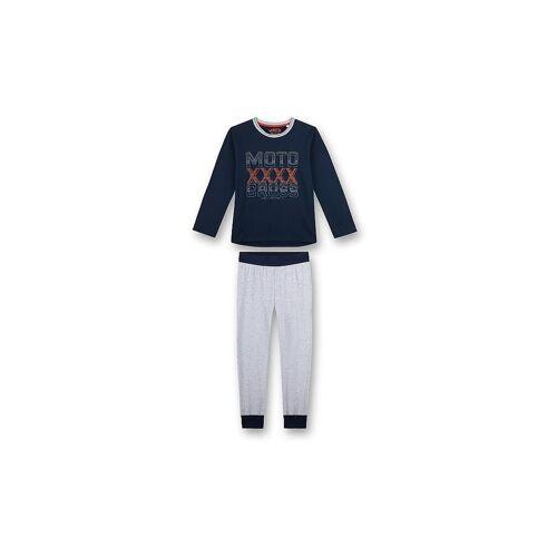 SANETTA Jungen Pyjama blau   140