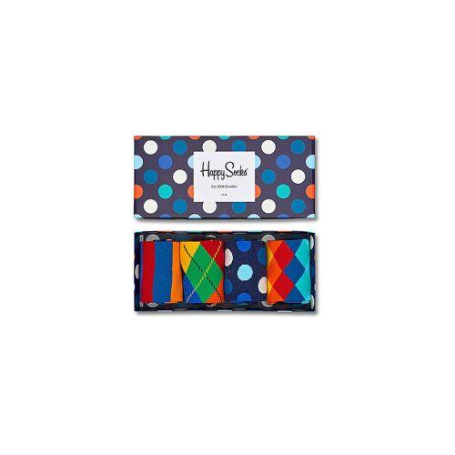 HAPPY SOCKS Geschenkset Socken 4er Pkg Big Dot bunt   Damen   XMIX09-6000