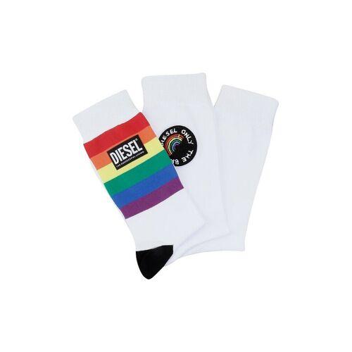 Diesel Socken Hermine 3er Pkg weiß   43-46