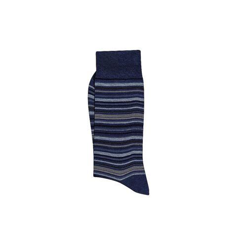 ALTO MILANO Herren Socken Genjo 40-45 Blau bunt   Herren   1264UC