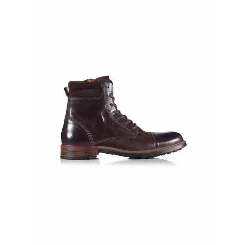 NOBRAND Boots Iron 4 braun   45