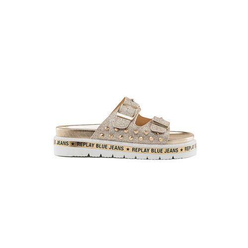 REPLAY Sandalen - Schuhe  gold   41
