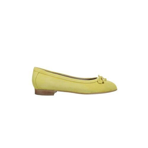 DIRNDL & BUA Trachten Ballerina gelb   Damen   Größe: 39   5860