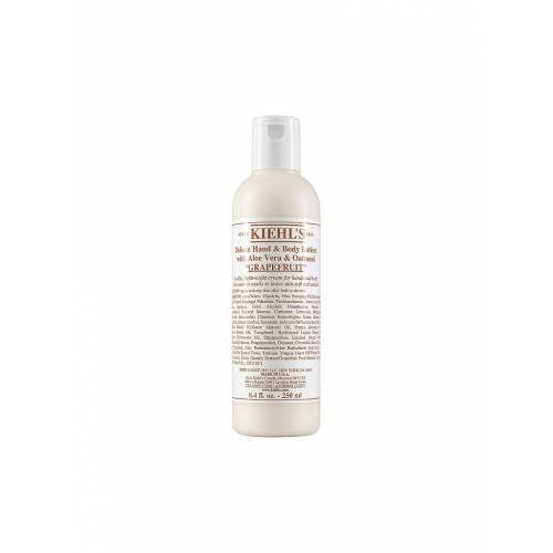 KIEHL'S Deluxe Hand and Body Lotion with Aloe Vera and Oatmeal - Grapefruit 250ml