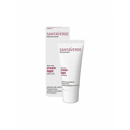 SANTAVERDE Gesichtscreme - Aloe Vera cream light ohne Duft 30ml