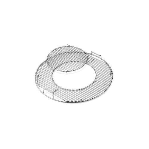 Weber GRILL Gourmet BBQ System - Grillrost mit Grillrosteinsatz 57cm silber   8843