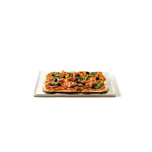 Weber GRILL Pizzastein eckig 44 x 30cm  braun