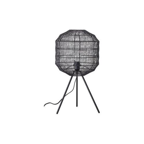BLOOMINGVILLE Tischlampe 56,5cm schwarz