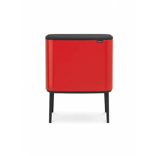 BRABANTIA Bo Touch Bin 11L/23L (Passion Red) rot