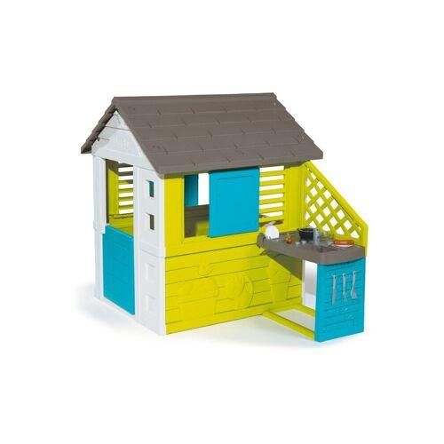 SMOBY Spielhaus - Pretty Haus mit Sommerküche