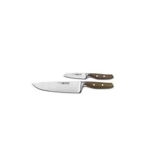 "WUESTHOF Messer-Set ""Epicure"" 2-tlg. braun   1070660201"