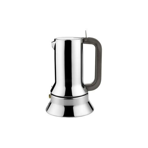 Alessi Espressomaschine / 3 Tassen silber