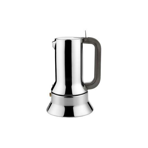 Alessi Espressomaschine / 6 Tassen silber