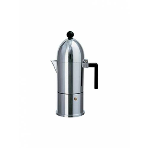 Alessi Espressomaschine La Cupola (6 Tassen) silber