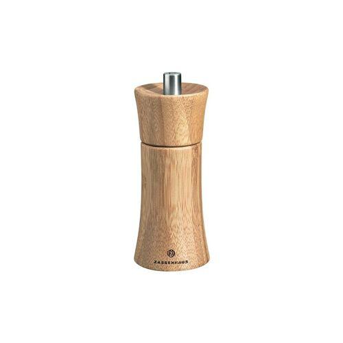 ZASSENHAUS Bambus-Salzmühle Frankfurt 14cm braun
