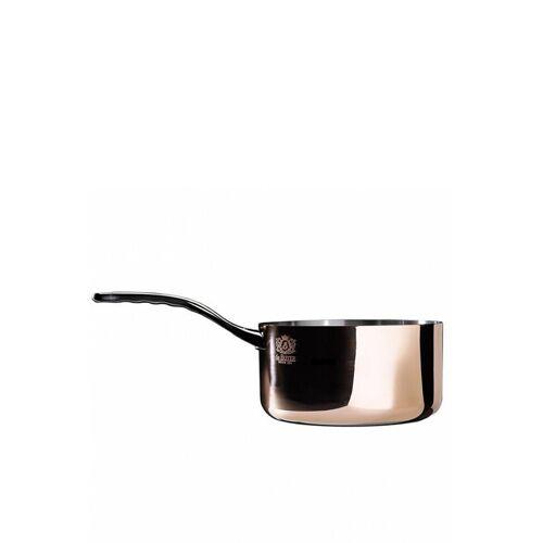 DE BUYER Stieltopf-Kasserolle ohne Deckel Prima Matera 14cm 1,2l (Kupfer) braun
