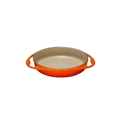 LE CREUSET Tartin Backform aus Gusseisen 28cm (Ofenrot) orange