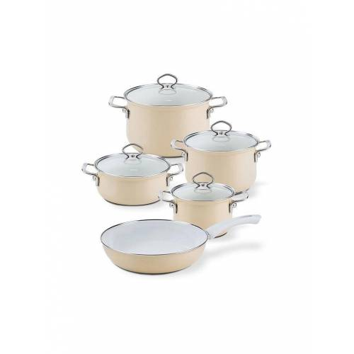 RIESS Email Topf-Set 5-tlg. Cappuccino beige