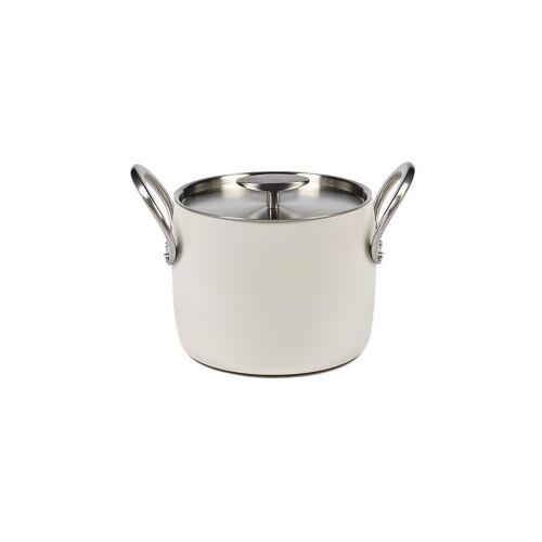 SERAX Kochtopf Pure 18cm 4l weiß