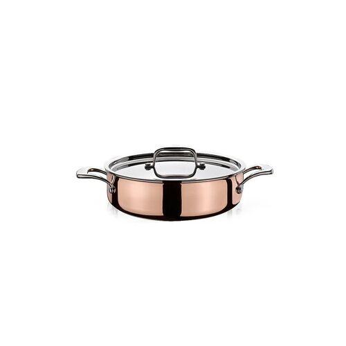 SPRING Gourmettopf mit Deckel 28cm Culinox (Kupfer) kupfer